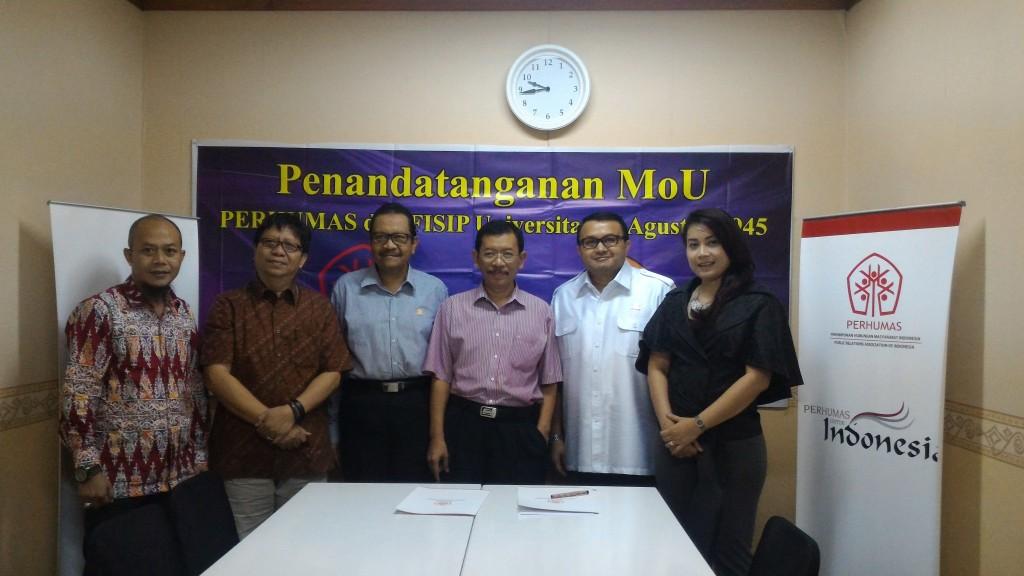 PERHUMAS menjalin kerjasama dengan Universitas Tujuh Belas Agustus Surabaya (UNTAG) 2